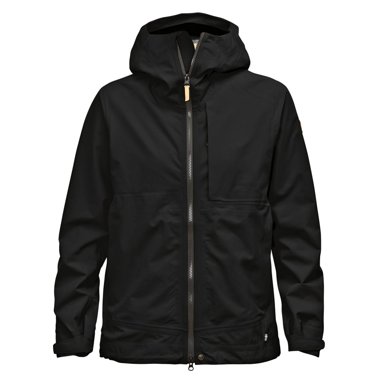 Fjallraven Womens Abisko Eco-Shell Jacket Black