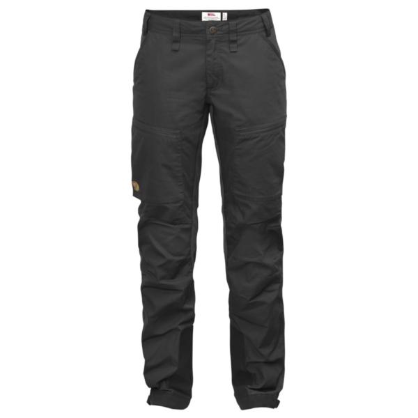 Fjallraven Womens Abisko Lite Trekking Trousers Dark Grey