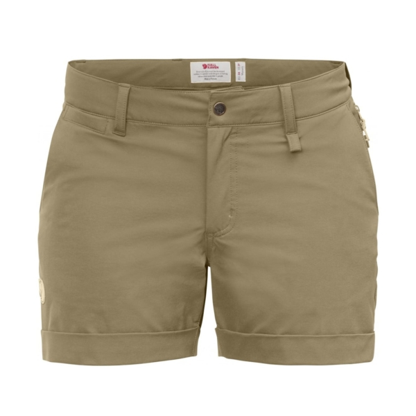 Fjallraven Womens Abisko Stretch Shorts Sand