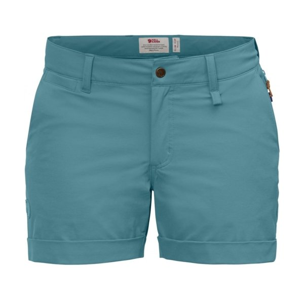 Fjallraven Womens Abisko Stretch Shorts Lagoon
