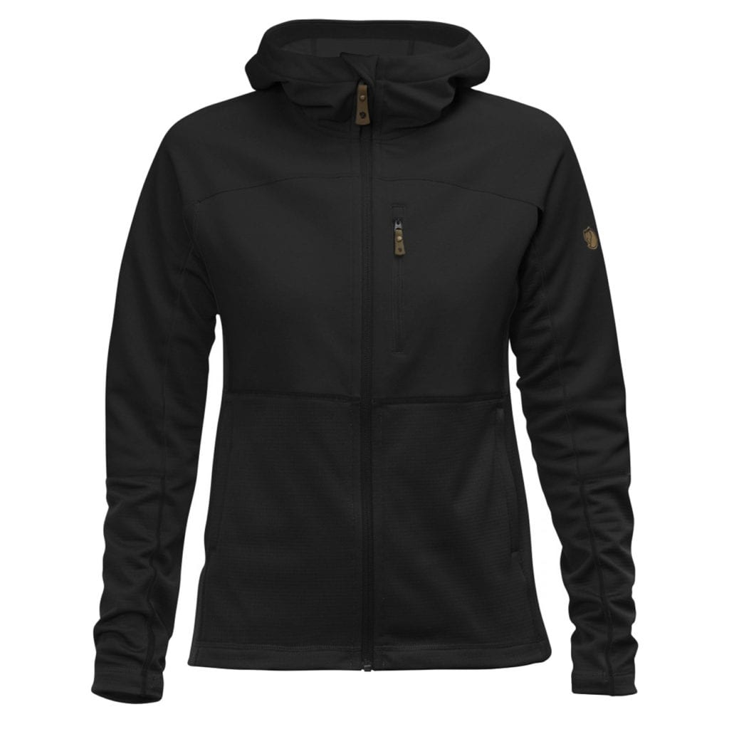 Fjallraven Womens Abisko Trail Fleece Black