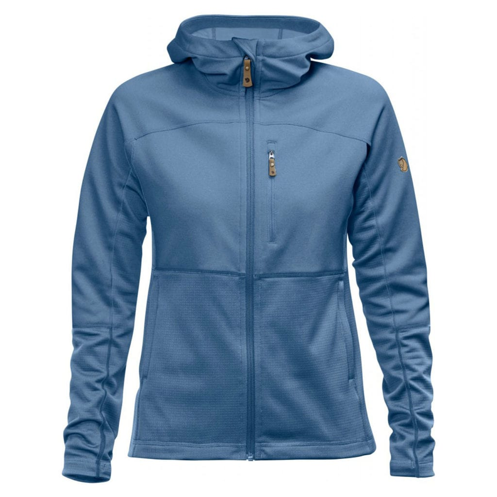 Fjallraven Womens Abisko Trail Fleece Blue Ridge