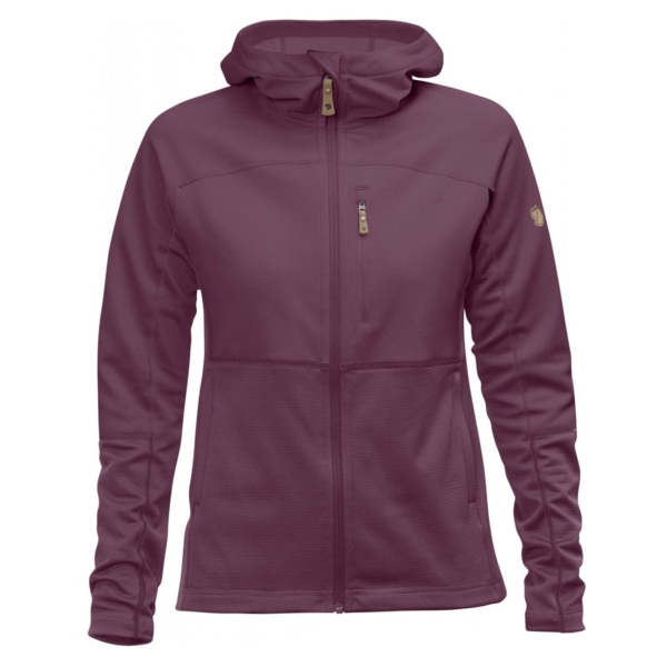 Fjallraven Womens Abisko Trail Fleece Plum