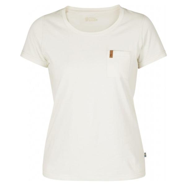 Fjallraven Womens Ovik T-Shirt Eggshell