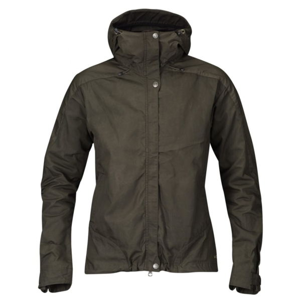 Fjallraven Womens Skogso Jacket Dark Olive