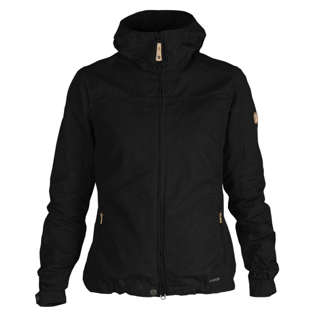 Fjallraven Womens Stina Jacket Black