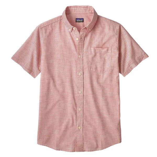 Patagonia Lightweight Bluffside Shirt Static Red