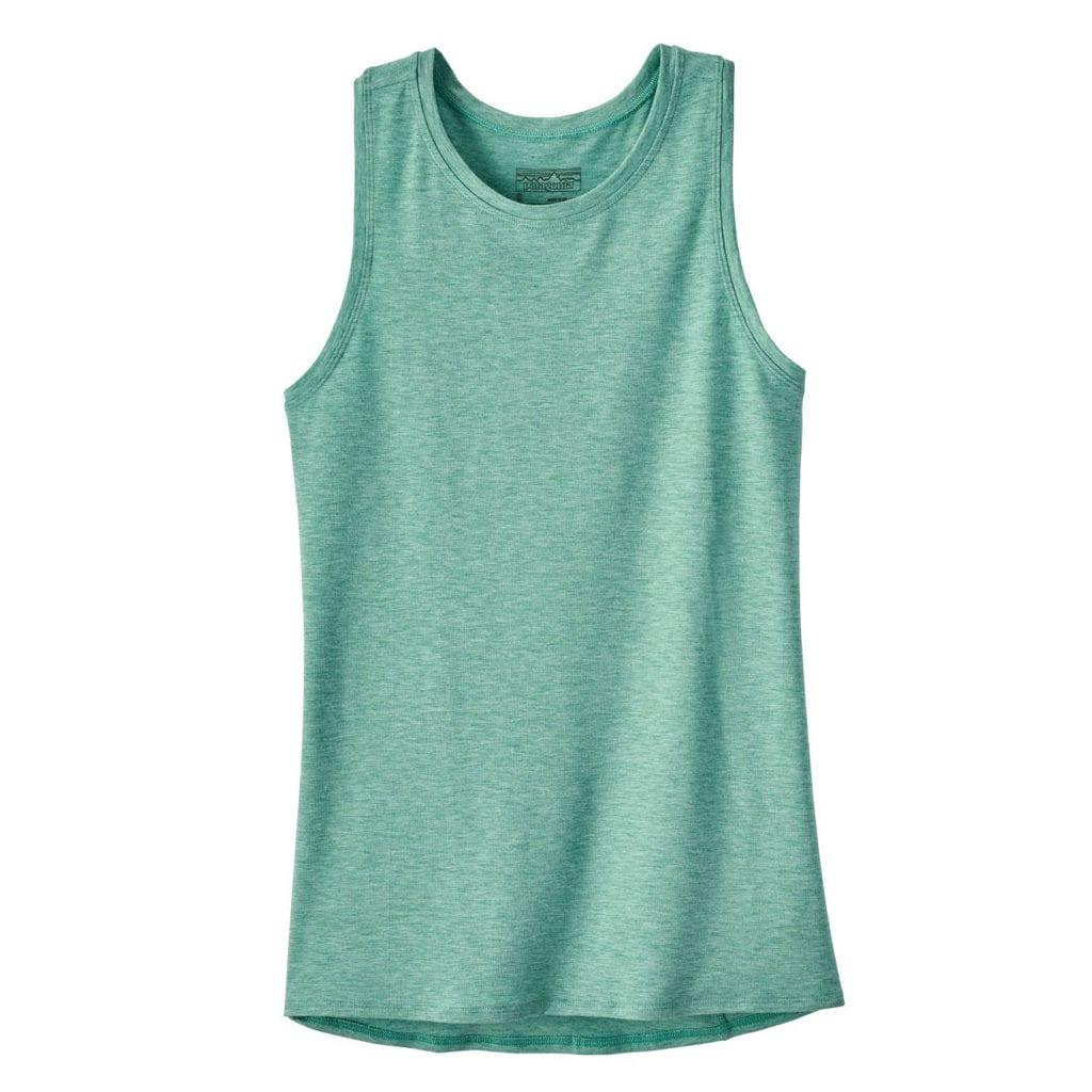 Patagonia Womens Glorya Vest Top Beryl Green