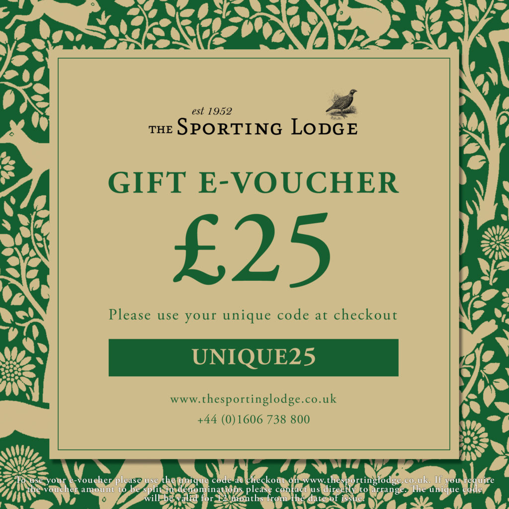 £25 E-Voucher at The Sporting Lodge