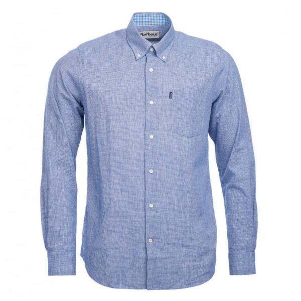 Barbour Austin Short Sleeve Shirt Navy
