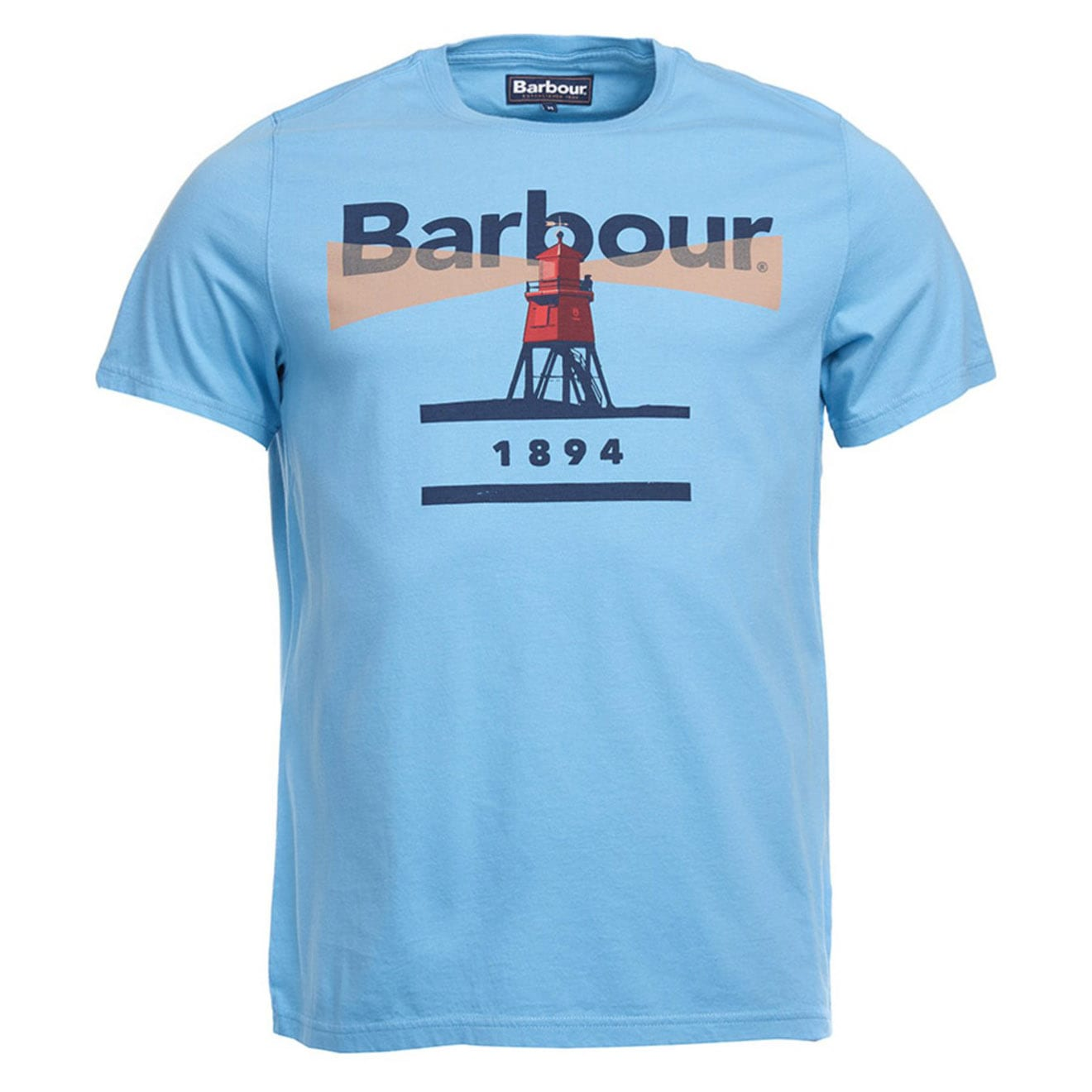ea4f7f5216c Barbour Beacon 94 T-Shirt Blue - The Sporting Lodge