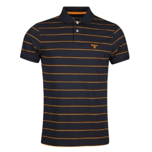 Barbour Bodmin Stripe Polo Shirt Navy