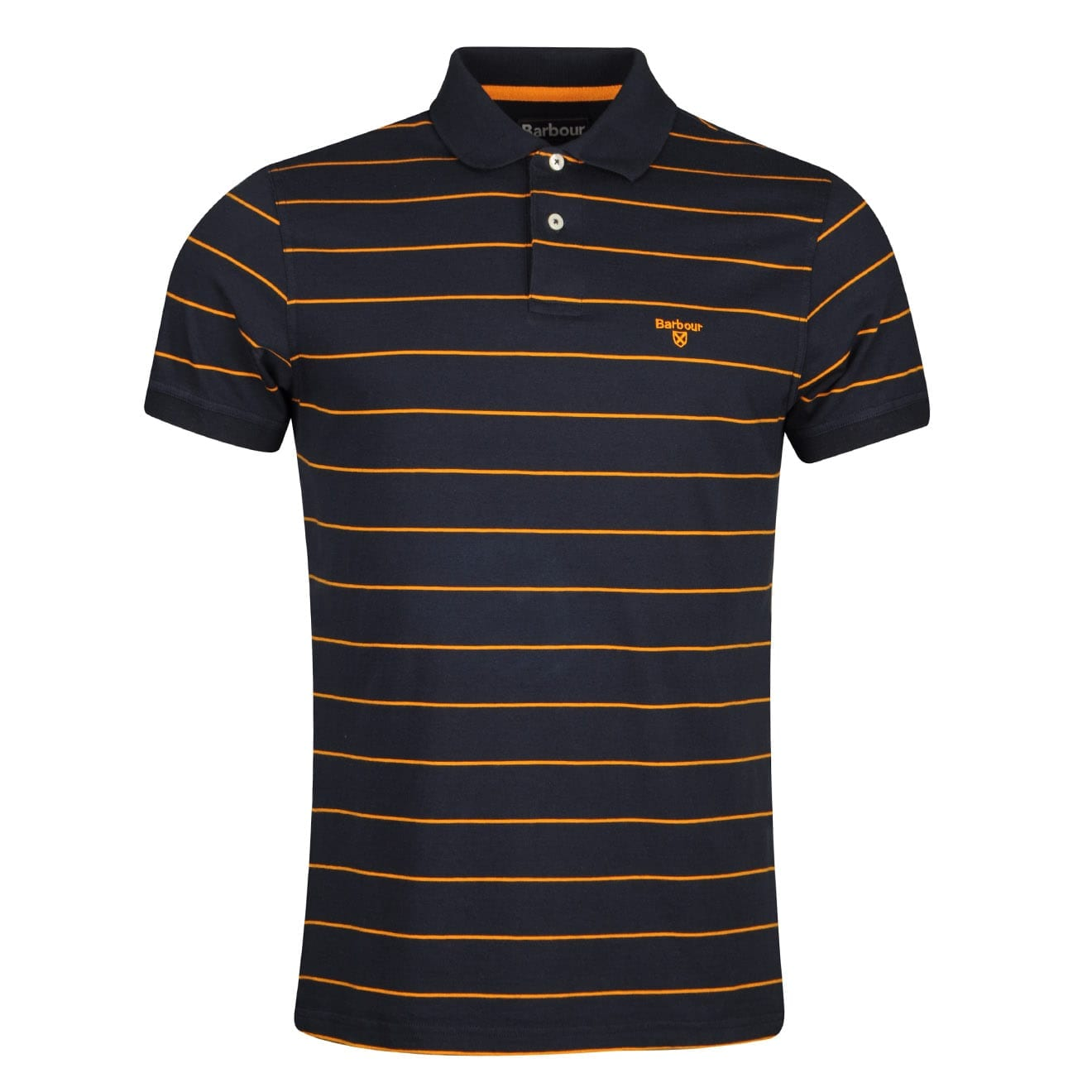 Barbour Bodmin Stripe Polo Shirt Navy
