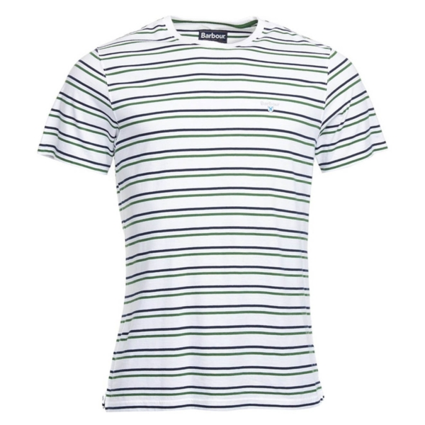 Barbour Duxford Stripe T-Shirt White