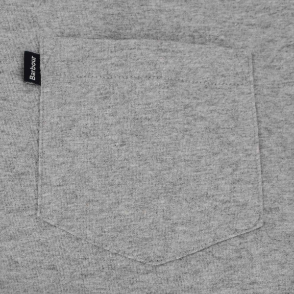 Barbour Essential One Pocket T-Shirt Grey Marl