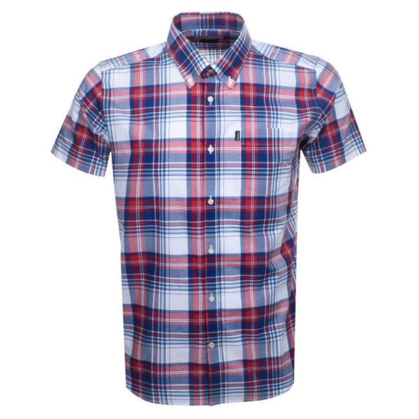 Barbour Gerald Short Sleeve Shirt Red