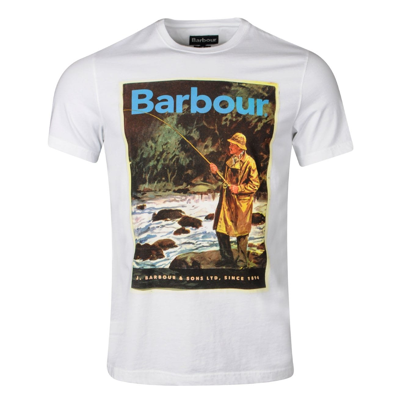 Barbour Historic T-Shirt White