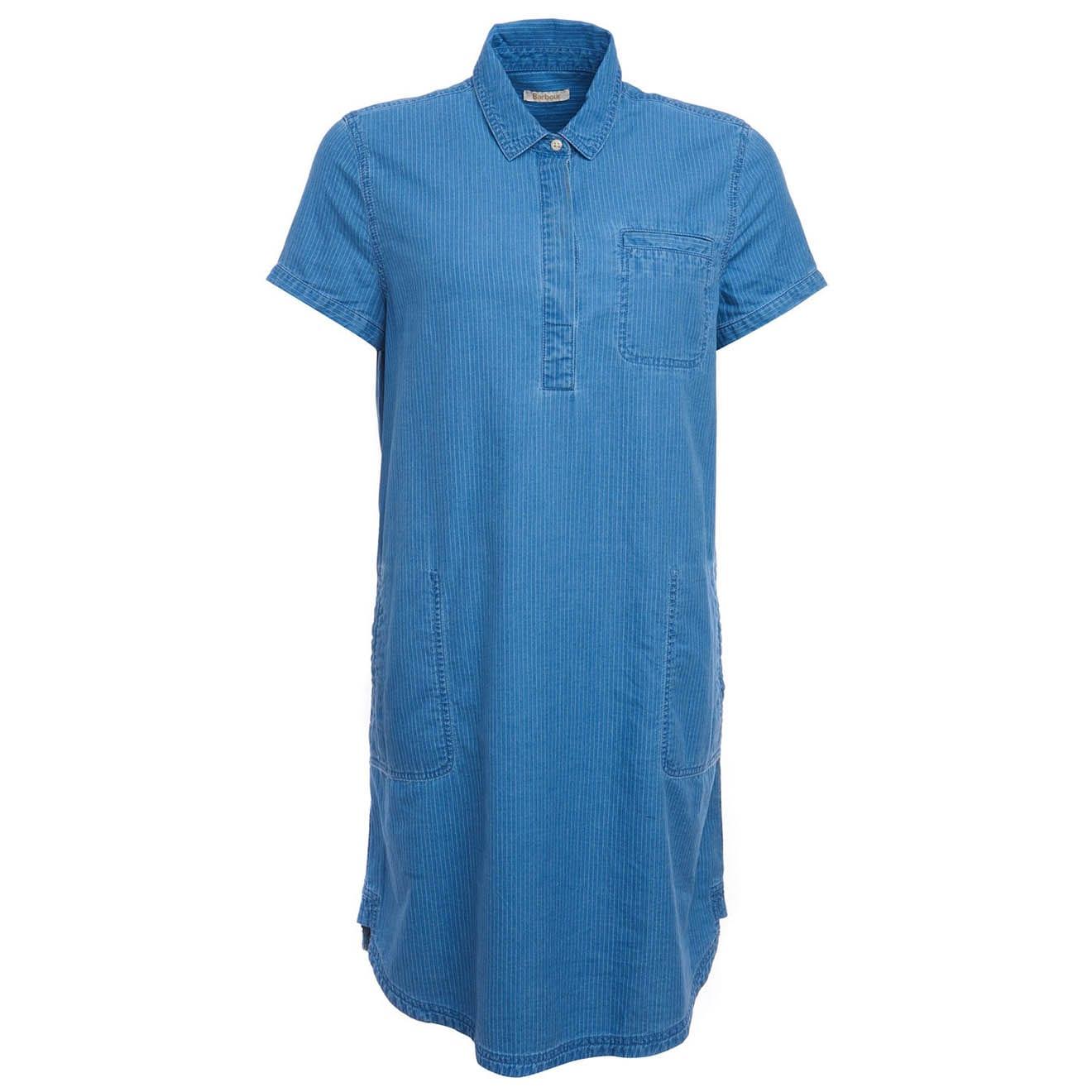Barbour Littlehaven Dress Mid Blue