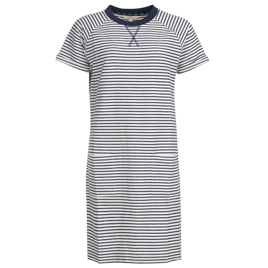 Barbour Monreith Dress White / Navy