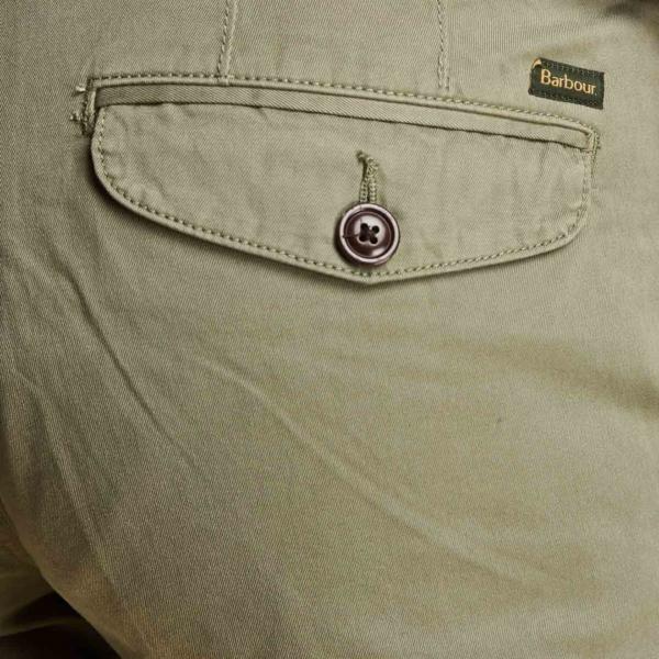 Barbour Neuston Twill Shorts Sunbleach Olive