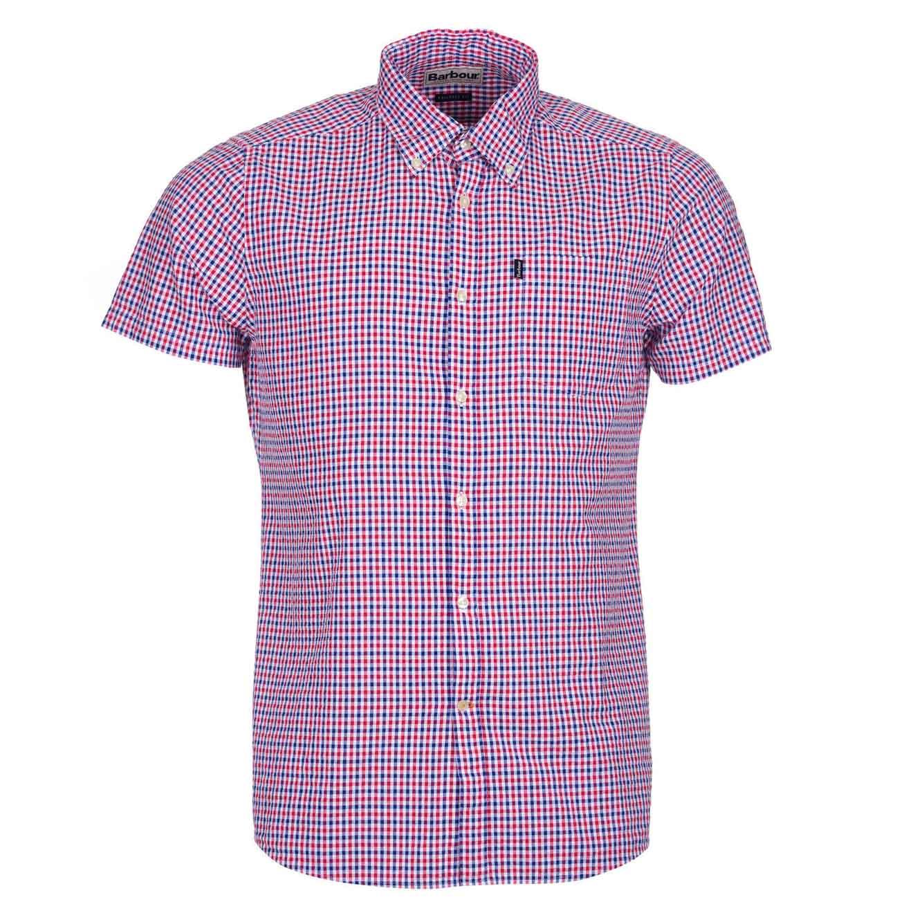 0a541aadc9d Barbour Newton Short Sleeve Shirt Navy