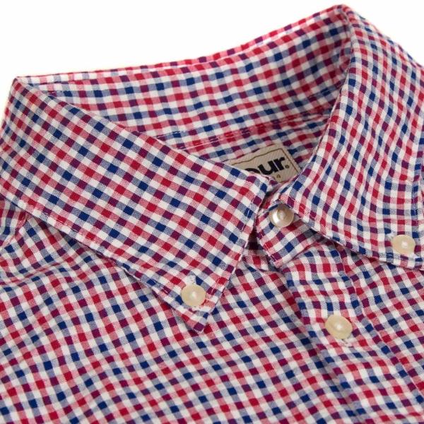 Barbour Newton Short Sleeve Shirt Navy