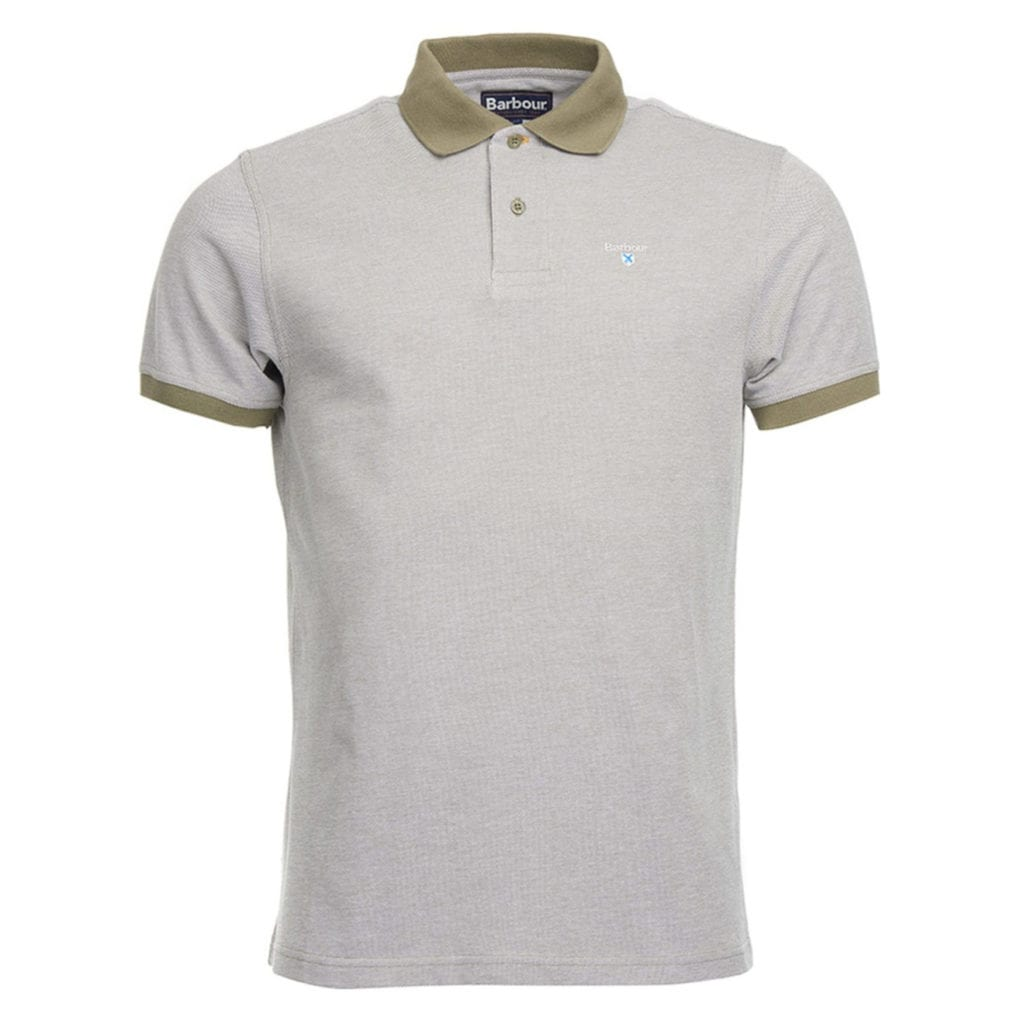 Barbour Sports Polo Shirt Light Moss