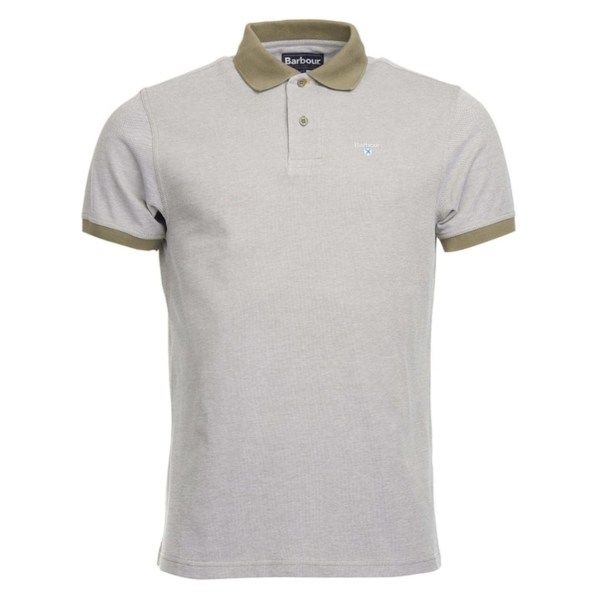Barbour Sports Polo Shirt Light Moss