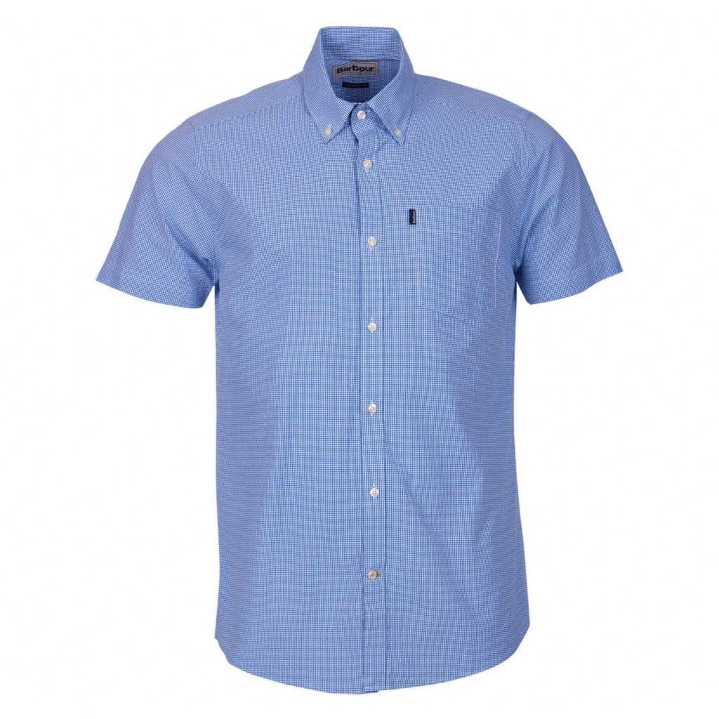 Barbour Triston Short Sleeve Shirt Aqua
