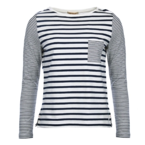 Barbour Womens Barnacle Striped Top