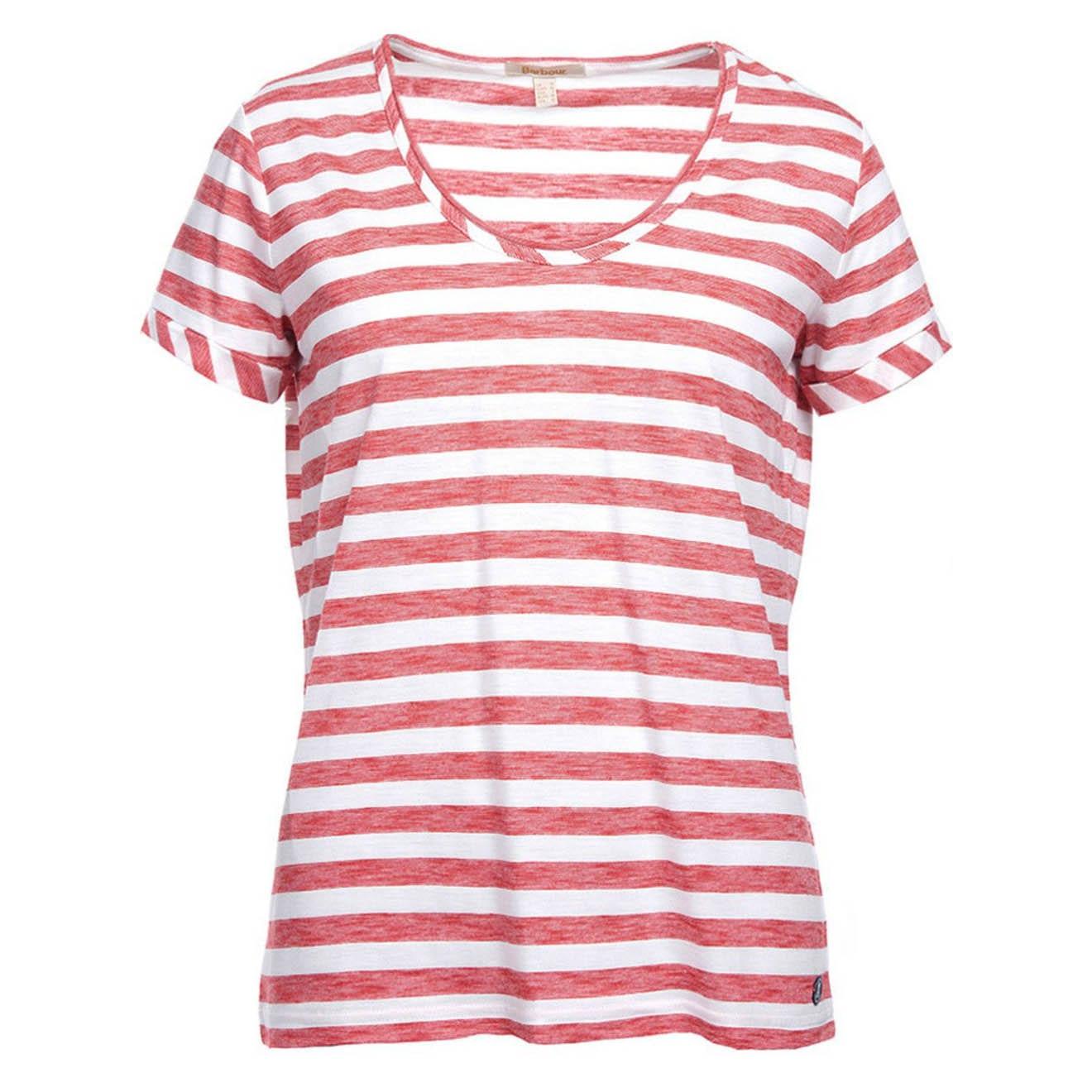 Barbour Womens Dene T-Shirt Red