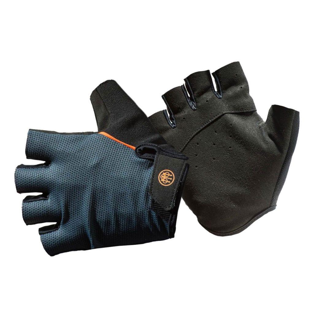 Beretta Fingerless Gloves Grey Melange