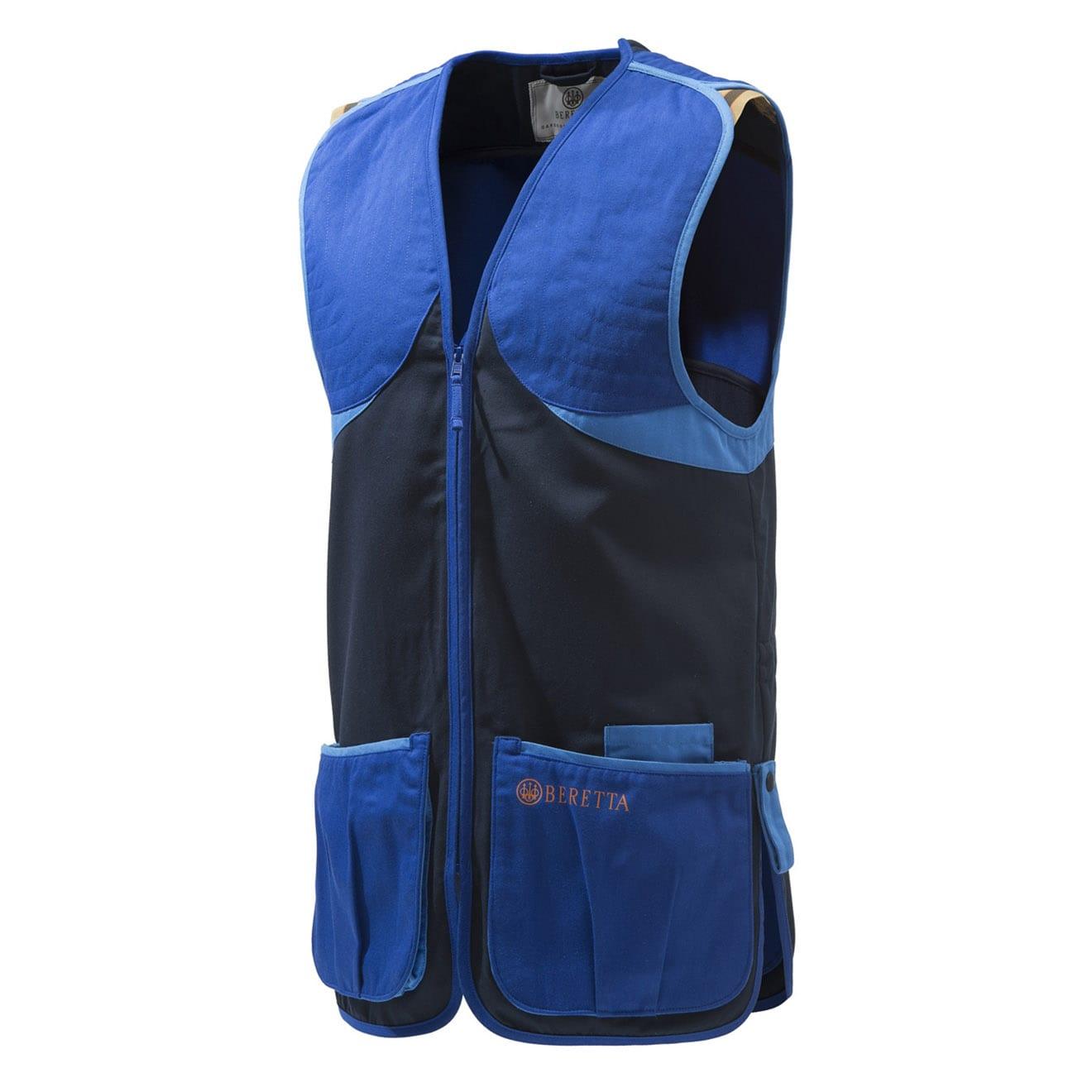 Beretta Full Cotton Vest Blue Navy