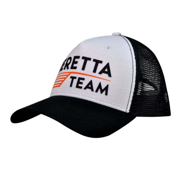 Beretta Team Cap Black White