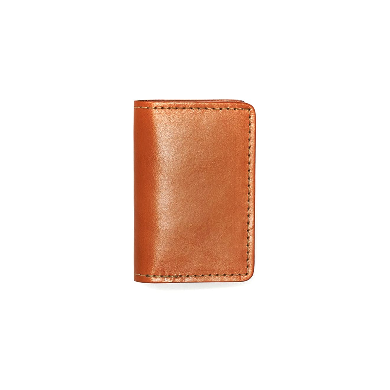 Filson Card Case Tan Leather