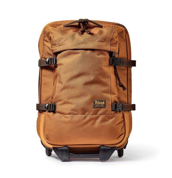 Filson Dryden 2-Wheel Carry-On Bag Whiskey