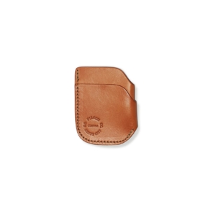 Filson Front Pocket Cash And Card Case Tan Leather