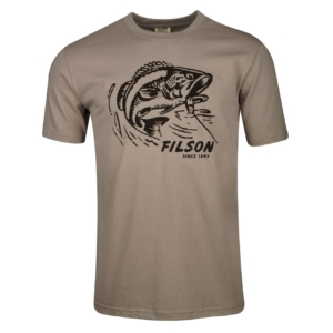Filson Outfitter Graphic T-Shirt Steeple Grey