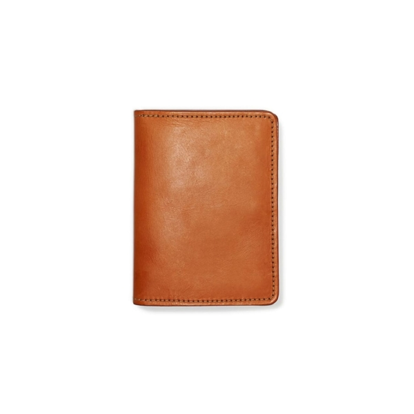 Filson Passport And Card Case Tan Leather