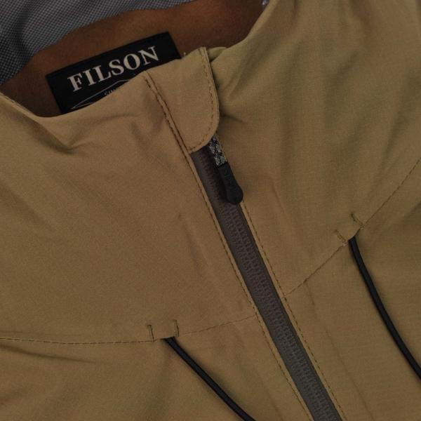 Filson Swiftwater Rain Shell Jacket Rugged Tan