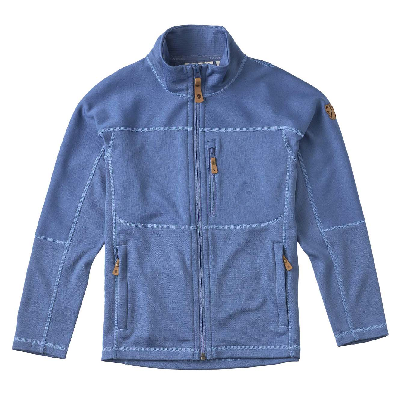 Fjallraven Kids Abisko Trail Fleece Blue Ridge