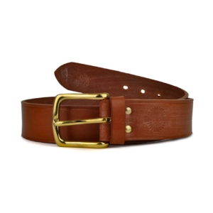 James Pudey English Bridle Leather Belt