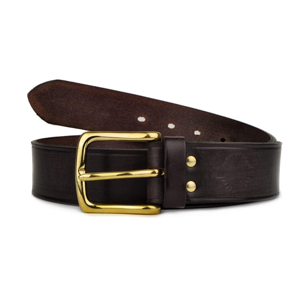 James Purdey English Bridle Leather Belt