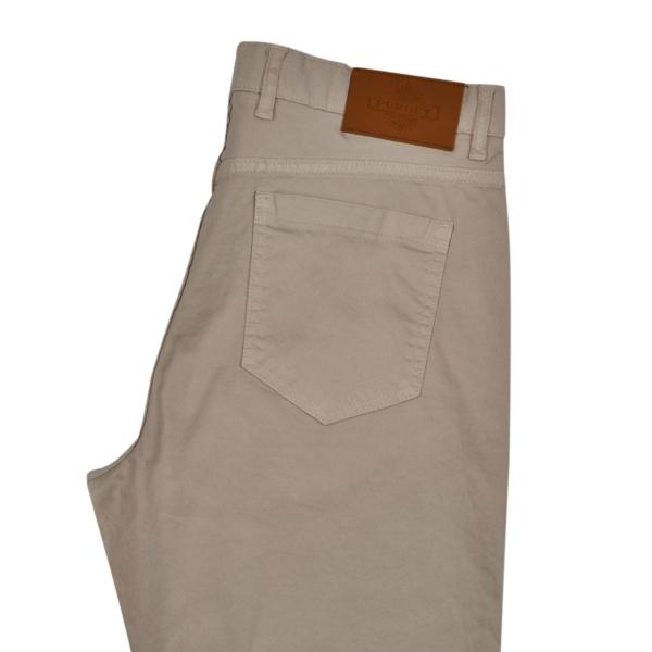 James Purdey Lightweight Five Pocket Jeans Bone