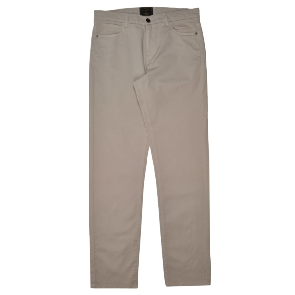 James Purdey Lightweight Five Pocket Jeans Bone