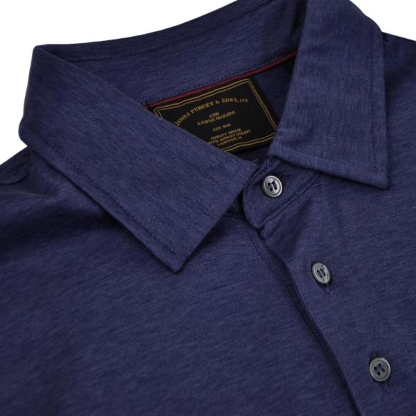 James Purdey Melbury Polo Shirt Navy