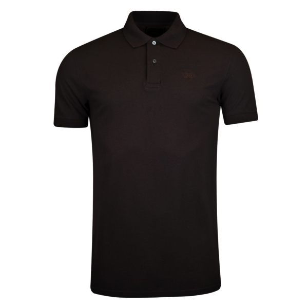 James Purdey Polo Shirt Charcoal Brown