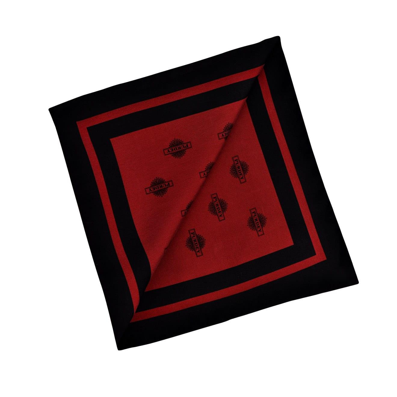 James Purdey Starburst Silk Pocket Square