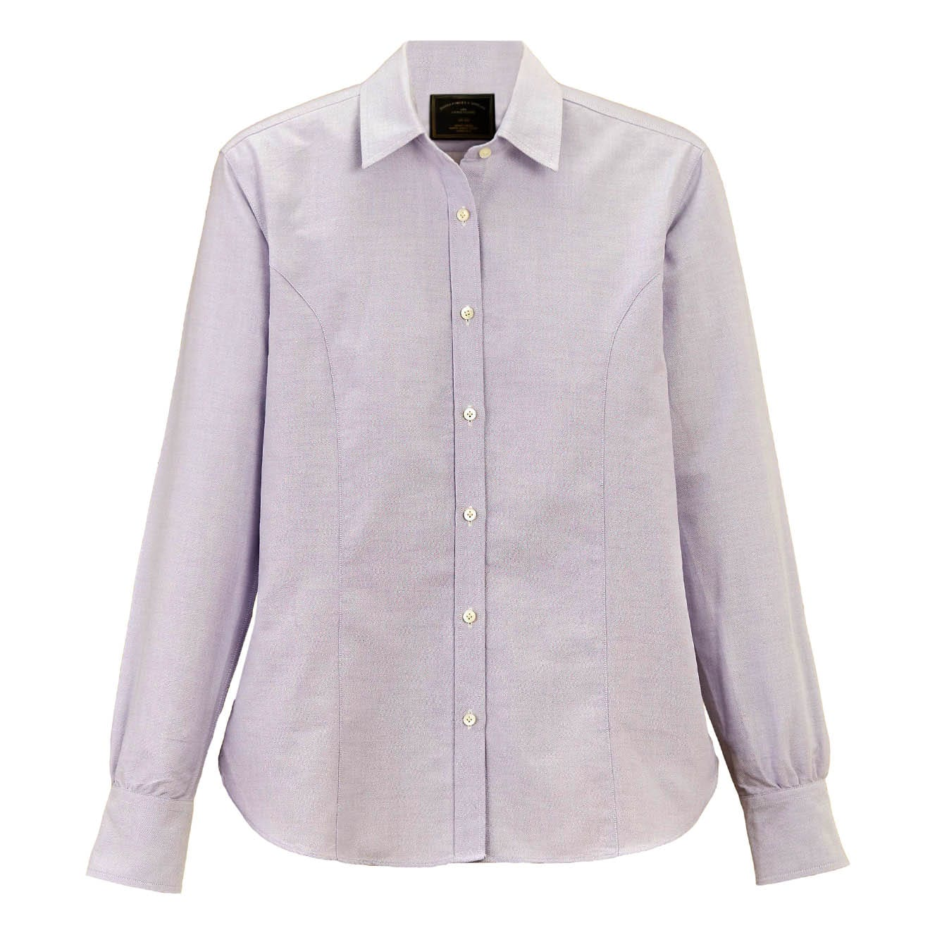 James Purdey Womens Oxford Shirt Lavender