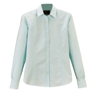 James Purdey Womens Oxford Shirt Mint